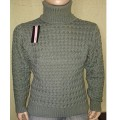 Мужской свитер № 0305 хаки
