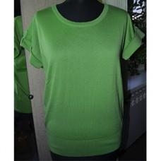 Женская кофта № 0466 зелёный