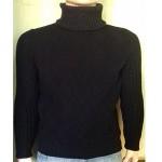 Мужской свитер № 07149 чёрный