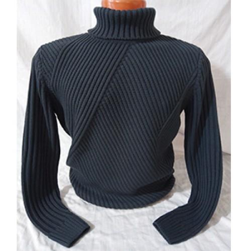 Мужской свитер № 07160 т.серый