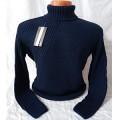 Мужской свитер № 07160 т.синий