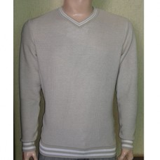 Мужской пуловер № 10145 бежевый