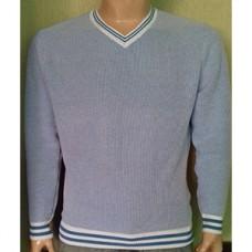 Мужской пуловер № 10145 св.голубой