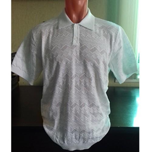 Мужская футболка № 14004 белый
