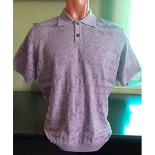 Мужская футболка № 14004 сиреневый
