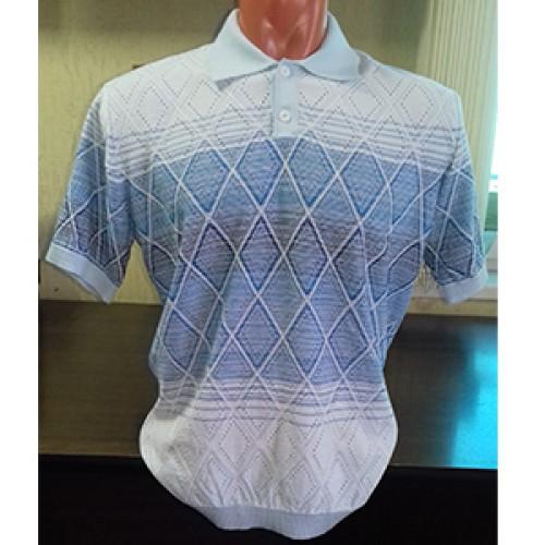 Мужская футболка № 14005 св.голубой