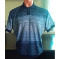 Мужская футболка № 14005 т.синий