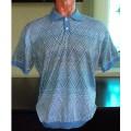 Мужская футболка № 14007 св.голубой
