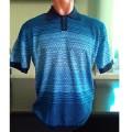 Мужская футболка № 14007 т.синий