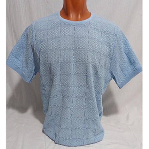 Мужская футболка № 140115 св.голубой