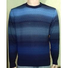 Мужской джемпер № 14012 т.синий