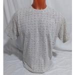 Мужская футболка № 140123 св.серый
