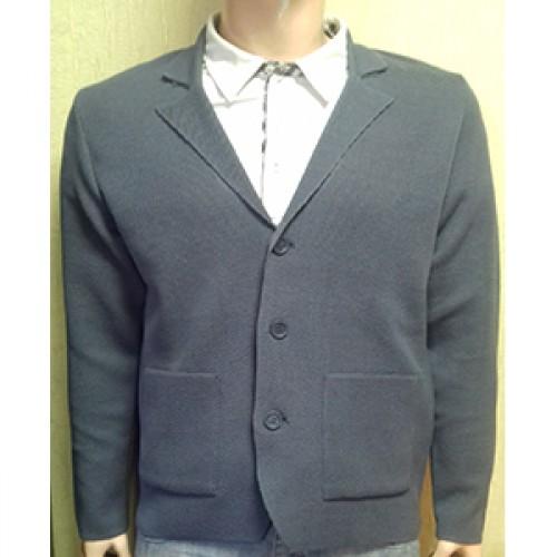Мужской пиджак № 14046 серый
