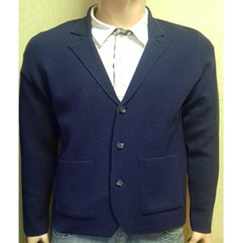Мужской пиджак № 14046 т.синий
