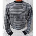 Мужской джемпер № 14056 серый