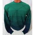 Мужской джемпер № 14061 зелёный