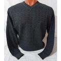 Мужской пуловер № 14102 антрацит