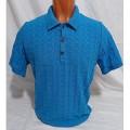 Мужская футболка № 14112 т.бирюзовый