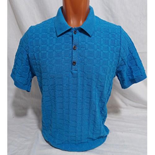 Мужская футболка № 140112 т.бирюзовый