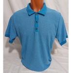 Мужская футболка № 14113 голубой