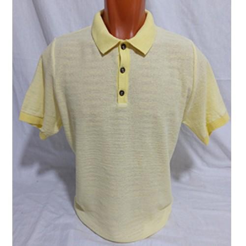 Мужская футболка № 14113 жёлтый