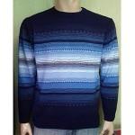 Мужской джемпер № 1421 синий