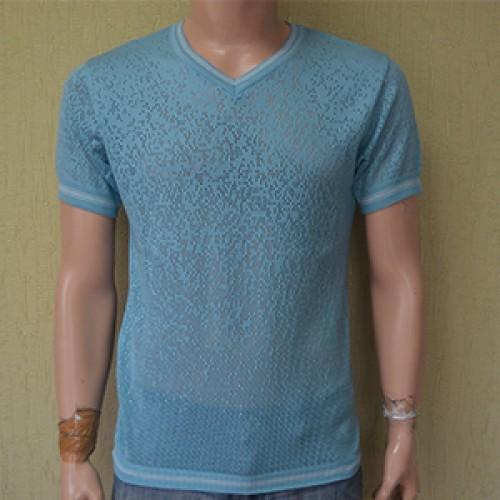 Мужская футболка № 14243 м светло-зелёный