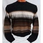 Мужской джемпер № 14385 коричневый