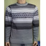 Мужской джемпер № 14401 серый