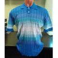 Мужская футболка № 14449 голубой