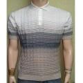 Мужская футболка № 14449 молочно-серый
