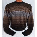 Мужской джемпер № 14488 коричневый
