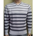 Мужской пуловер № 14495 св.серый